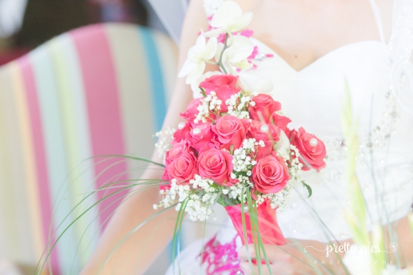Le bouquet de mariage d'Amélie et Quentin