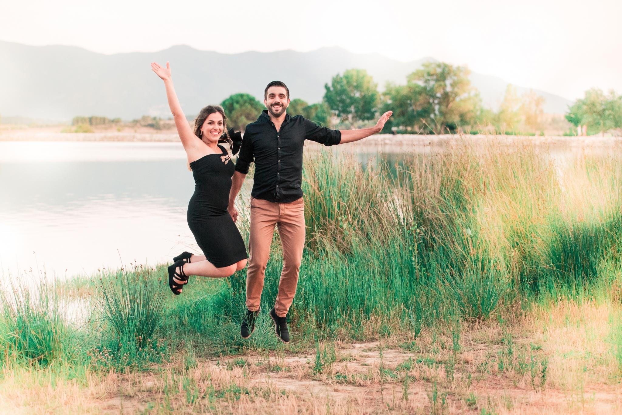 Laurie & Jérémy au lac de Villeneuve
