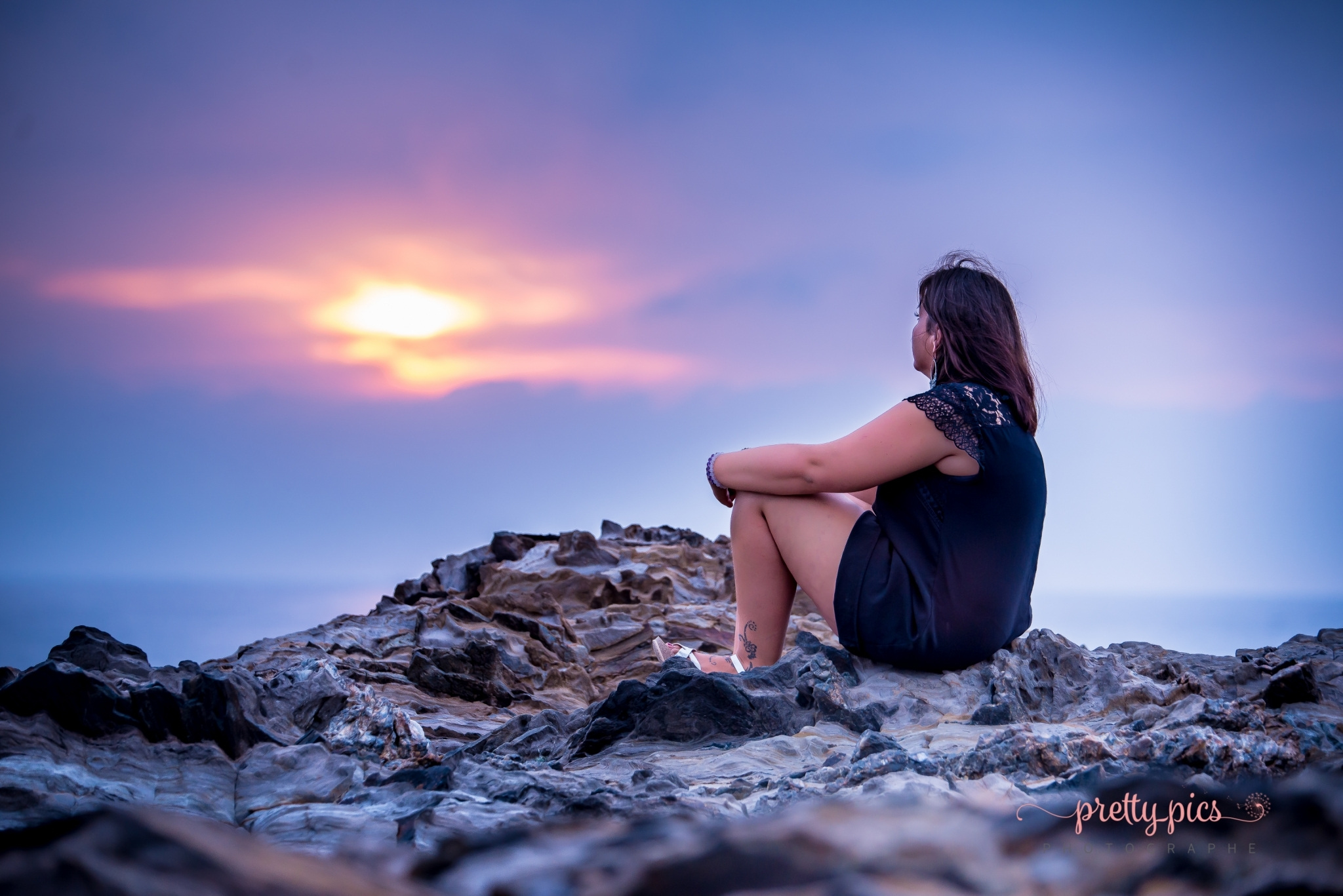 Lever de soleil à Collioure