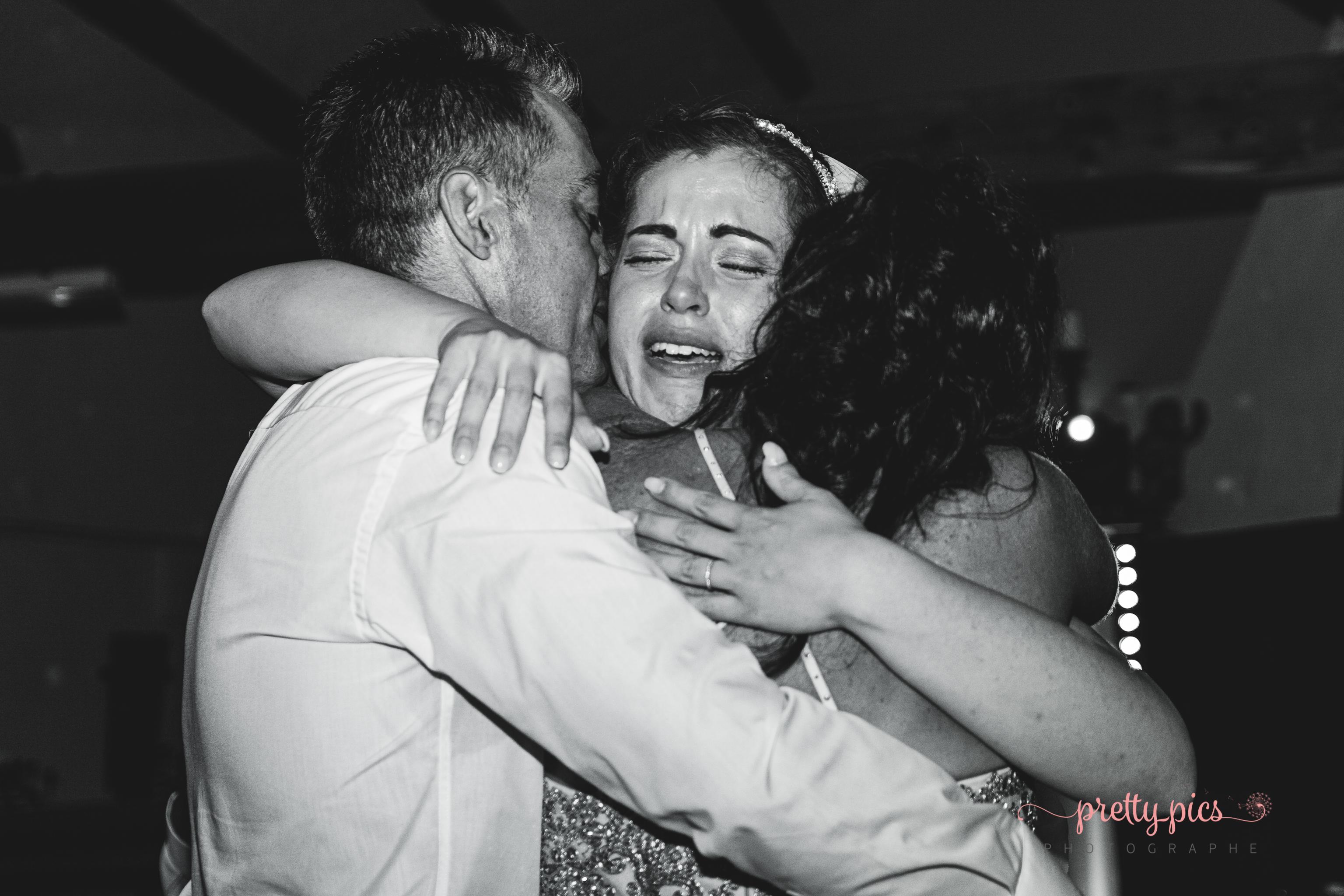 Laurie avec ses parents
