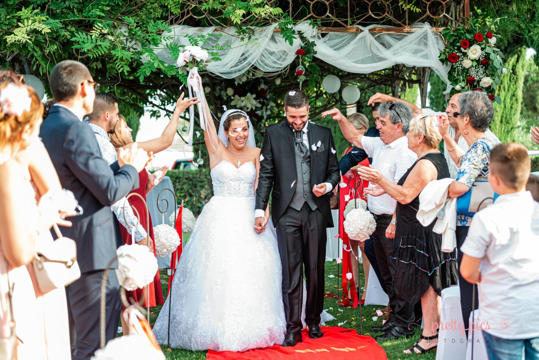 Félicitations aux mariés!